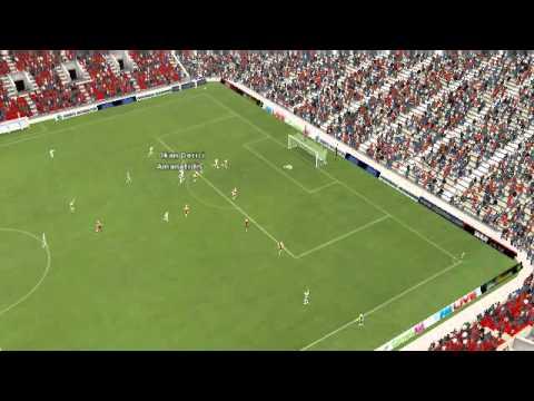 Colonia vs Frankfurt - Amanatidis Goal 22 minutes