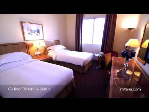 Rooms and Suites @ Gefinor Rotana - Beirut - Lebanon