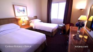 Rooms and Suites @ Gefinor Rotana - Beirut - Lebanon