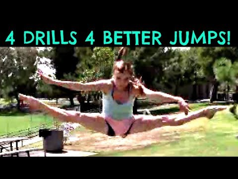How To Do Higher, Better Gymnastics Jumps With Coach Meggin! (Straddle/Split)