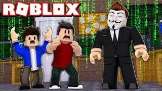 WE FOUND a HACKER in the ROBLOX (Mad City)