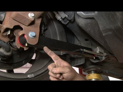 Mustang BMR Rear Lower Control Arms 2005-2014 Installation - YouTube