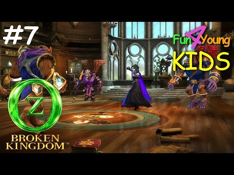 OZ: Broken Kingdom // #7 The COLLEGE Boss - Wicked WITCH of the East [iOS and Android gameplay]