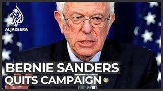 Bernie Sanders ends presidential campaign