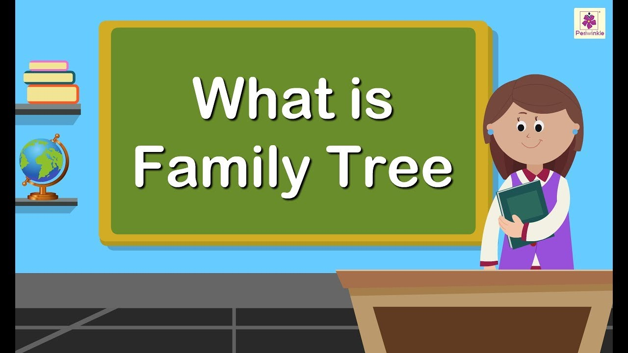 Family Tree Family Members Tree Educational Video For Kids Periwinkle Youtube