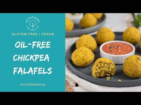 Baked Falafel Recipe with Canned Chickpeas [Vegan, Gluten-Free]