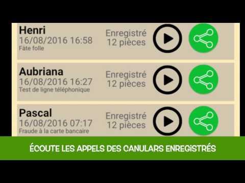 JUASAPP GRATUIT TÉLÉCHARGER CANULARS TÉLÉPHONIQUES