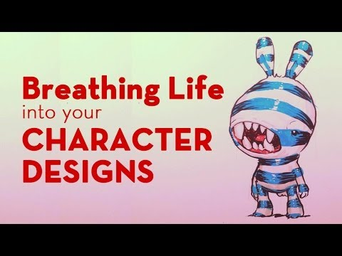Breathing Life into your Character Designs - School of Visual Storytelling