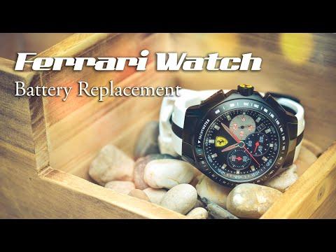 Ferrari Watch Battery Replacement