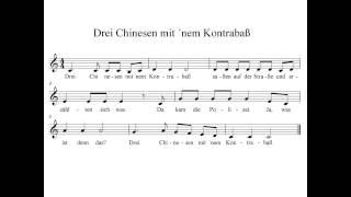 Drei Chinesen mit nem Kontrabass - instrumental