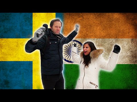 Swedish guy trying to speak Hindi - Language challenge