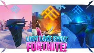 "Fortnite Loot Lake Event Live ""Fortnite Loot Lake Bunker"" (Fortnite Loot Lake Dig Site Live)"