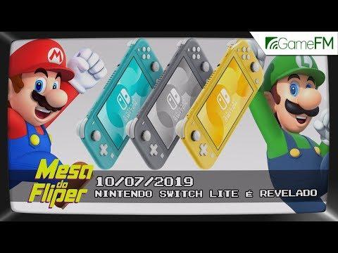 Nintendo Switch Lite é revelado - 10/07/2019 - Mesa do Fliper thumbnail