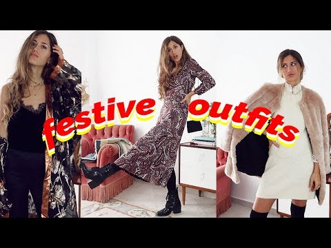 7 Thrifted & Vintage Holiday Outfit Ideas / Ethical Fashion