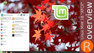 "Linux Mint 18 ""XFCE"" Overview 