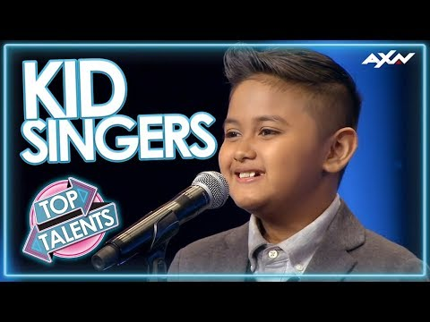 KID SINGERS WITH INCREDIBLE VOICES! Auditions That Blew the World Away   Top Talent
