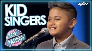 KID SINGERS WITH INCREDIBLE VOICES! Auditions That Blew the World Away | Top Talent