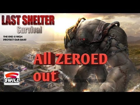 Last Shelter: Survival   all zeroed out   android/iOS game play  