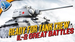 IL-2 Great Battles: Ready For Tank Crew (IL-2 Tanks Gameplay)