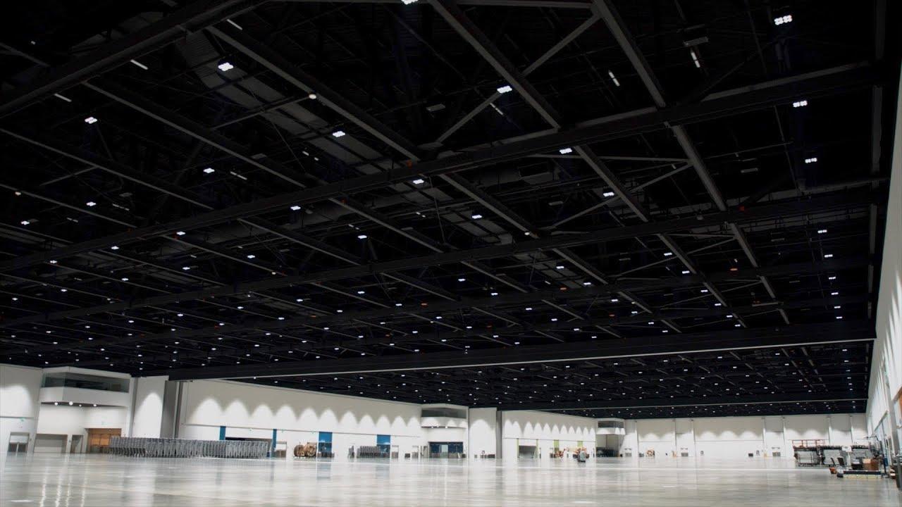 san jose mcenery convention center gets high tech lighting upgrade
