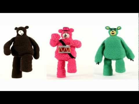 Stompy The Bear - Caspar Babypants (Directed/Animated by Charlotte Blacker)