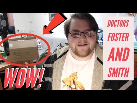 Doctors Foster And Smith Fish Supplies Unboxing