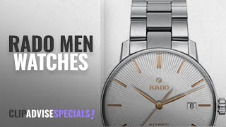 10 Best Selling Rado Men Watches [2018 ]: Rado Unisex Coupole Classic 38mm Steel Bracelet & Case
