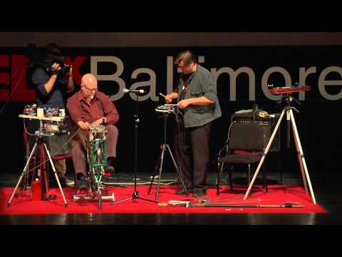 Experimental music: John Berndt & Neil Feather (THUS) at TEDxBaltimore 2014
