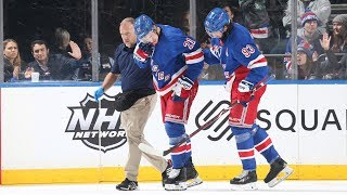 Brett Howden Injury Looks Scary, But Is It Serious? | New York Rangers Postgame