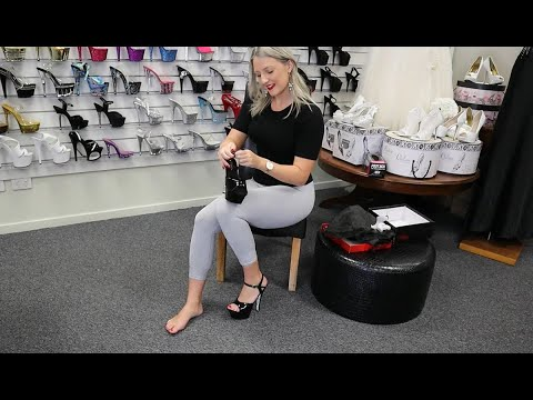 unboxing-try-out-pleaser-kiss-209crs-black-silver-rhinestone-6-inch-high-heel-platform-shoes