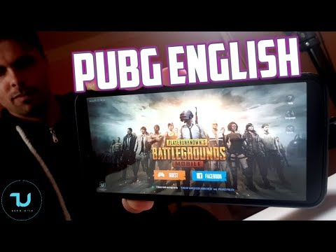 PUBG English released!! Full GAMEPLAY test/How to download/play? Tutorial OnePlus 5T