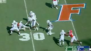 Florida football film study: offensive line vs. Colorado State