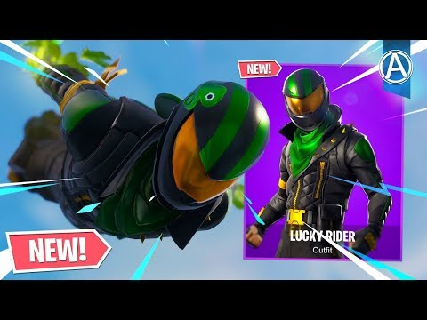 "NEW ""LUCKY RIDER"" SKIN Gameplay! (Fortnite Battle Royale LIVE) thumbnail"
