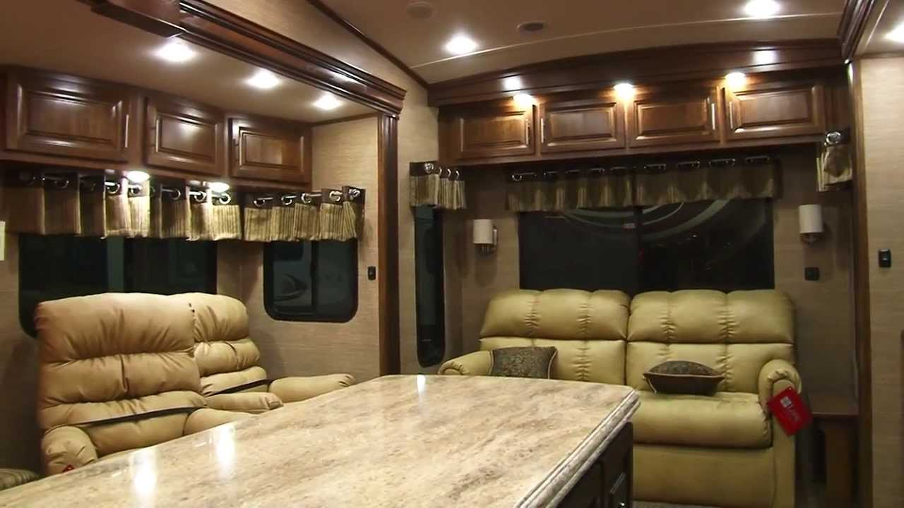 Brookstone 315RL 5th Wheel Review - YouTube