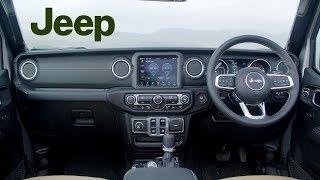2019 Jeep Wrangler Sahara Interior (UK Spec)