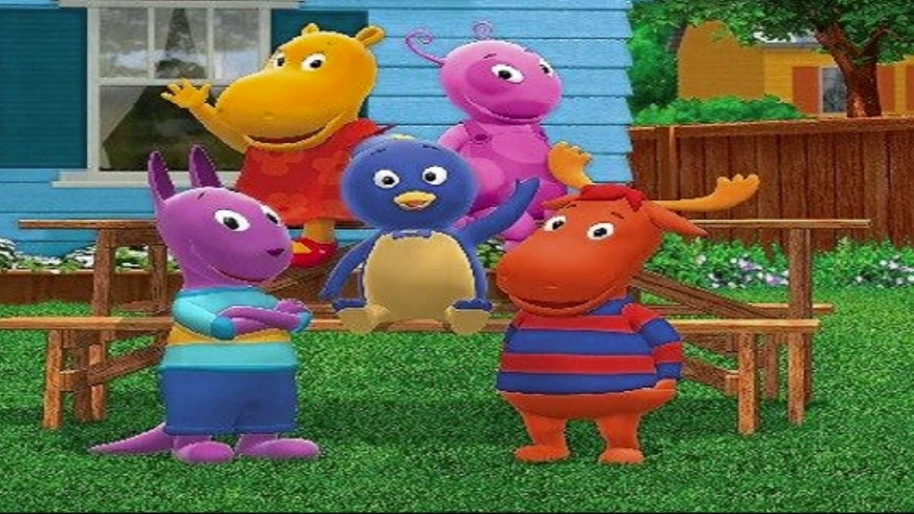 La verdadera historia de los backyardigans youtube for Amiguitos del jardin