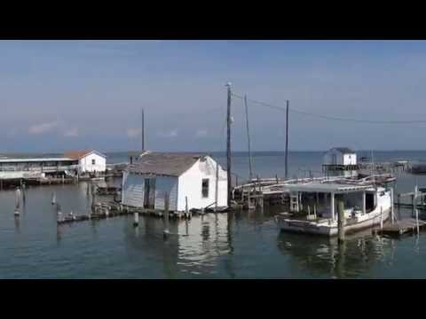 Tangier Island Cruise; Crisfield, Maryland to Tangier, Virginia