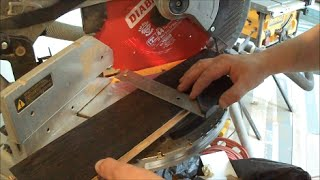 Installing Hardwood Floor Around Kitchen Cabinets And Door Jamb