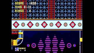 Sonic 3 & Knuckles - Carnival Night 2 Sonic: 0:30 (Speed Run)