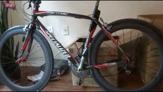 60mm Clincher Chinese Carbon Wheelset 01