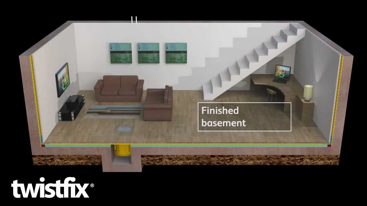 & Basement Tanking Systems for Waterproofing Damp Cellars - YouTube