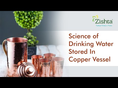 Science of drinking water stored in copper vessel | Traditional and modern science