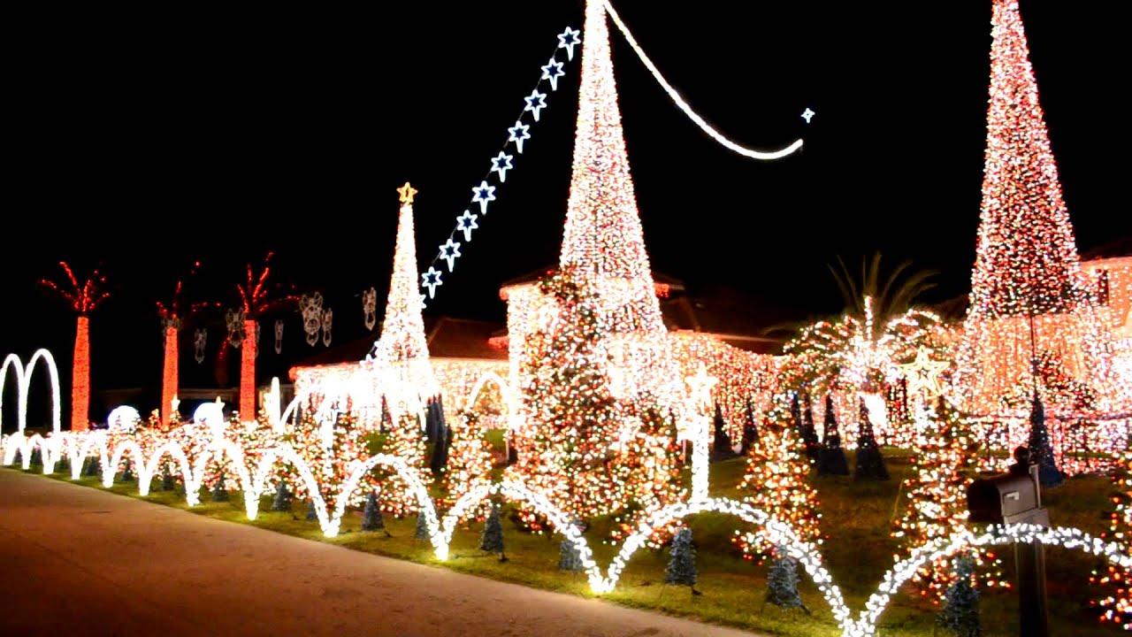 christmas lights in plantation | Decoratingspecial.com