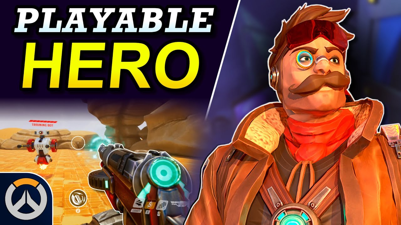 Download Overwatch - BLAIR Playable New Hero Concept | Abilities & Full Hero Kit