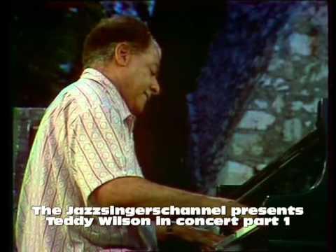 Teddy Wilson in concert part 1 ( Teddy plays Ellington )