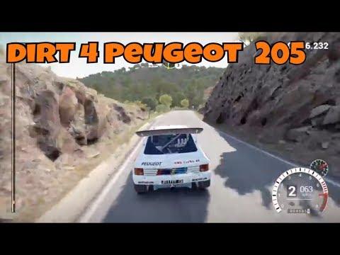 DiRT 4 - Peugeot 205 T16 Evo 2 - Gameplay