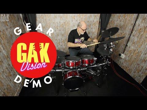 GAK DRUMS : Alesis Strike Pro Kit Professional Electronic Drum Kit