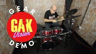 Скачать GAK DRUMS Alesis Strike Pro Kit Professional Electronic Drum Kit
