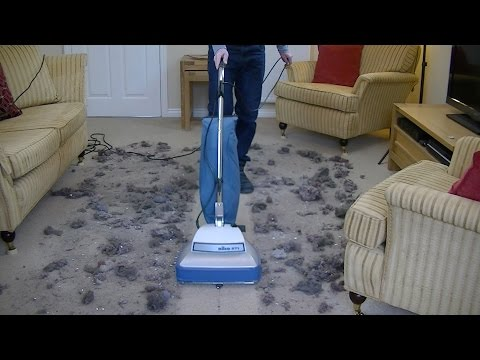 Taming the Beast - Extreme Test Of The Nilco 271 Upright Vacuum Cleaner