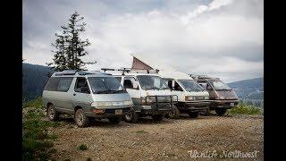 JDM Van 4wd Off-Road Adventure with VANLIFE NORTHWEST